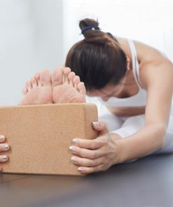 Cork Yoga Pilates fitness Block