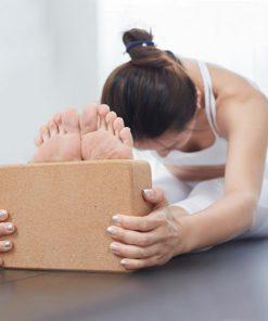 Cork Yoga Pilates fitness Block