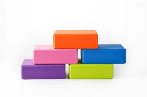 mmulticolor EVA Yoga Block Brick